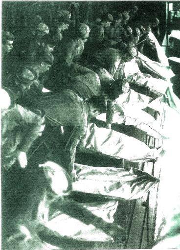 Asia Theatre burials at sea